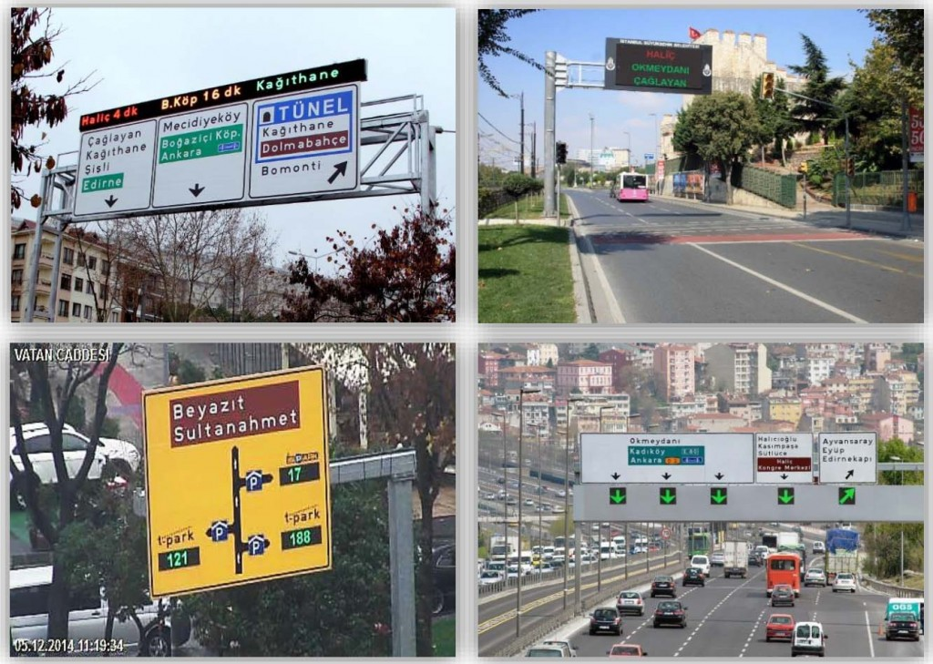 istambul traffic management pictures