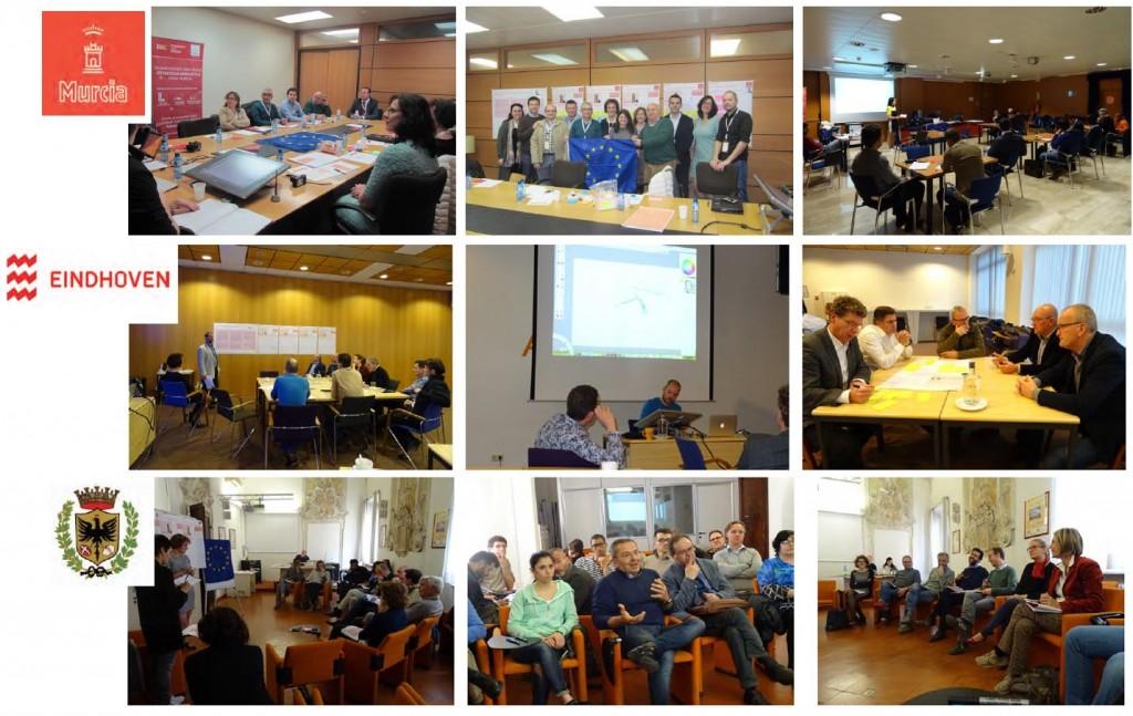 R4E Scenario workshops- Murcia -eindhoven -forli