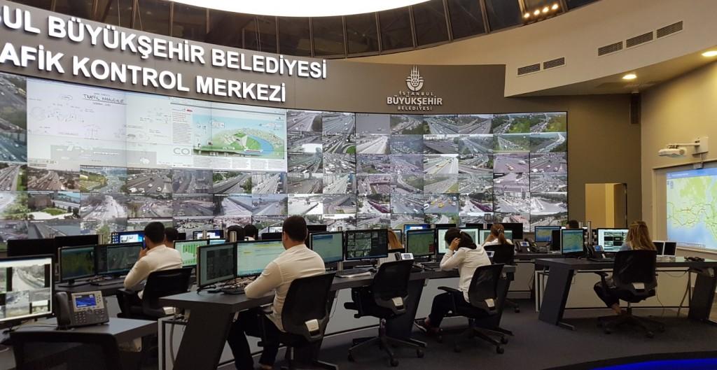 Traffic control center- Istambul- R4E