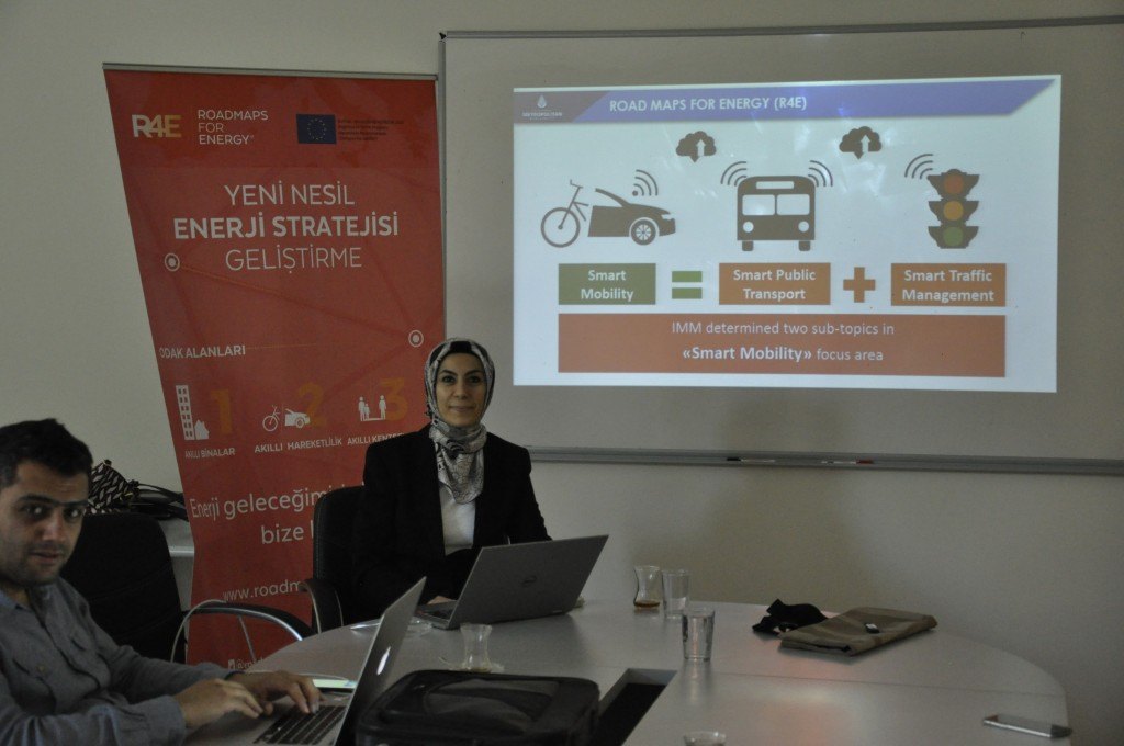 Istanbul smart traffic and R4E project seminar 3